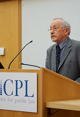 Sir Stephen Sedley: 'The lion beneath the throne: law as history'
