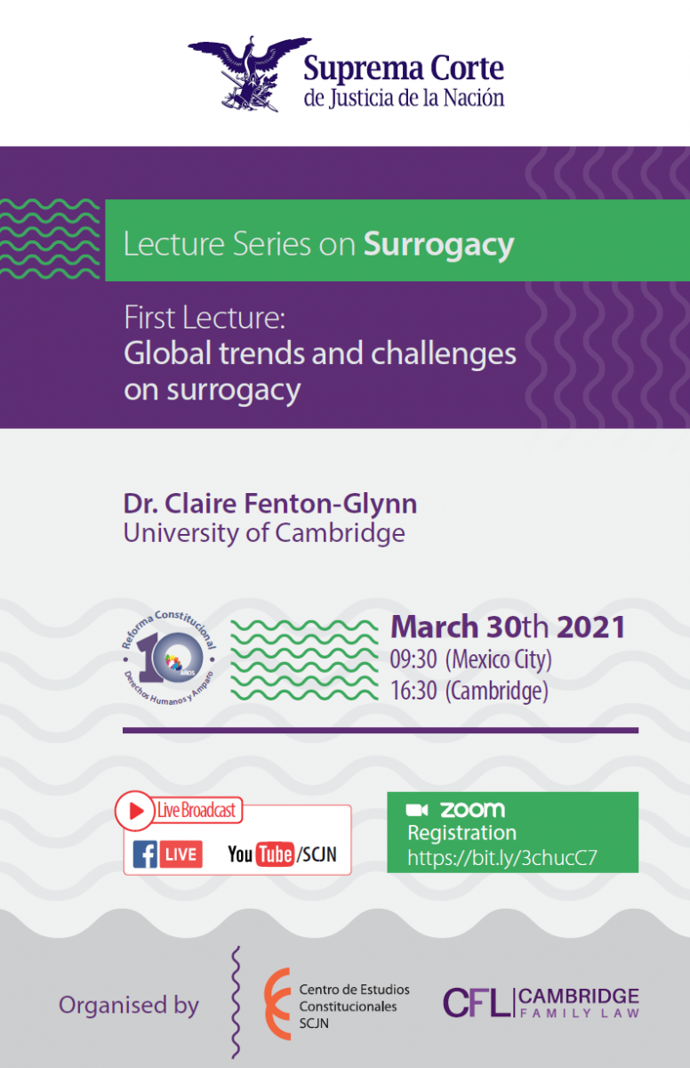 topic 'Global trends and challenges on surrogacy'