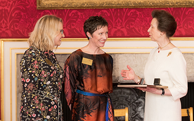 Amy Ludlow and Ruth Armstrong receive Butler Trust Award