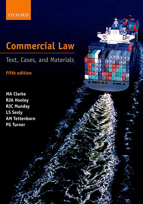 Commercial Law: Text, Cases, and Materials 5th edition