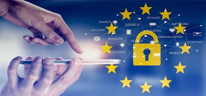Image symbolising electronic privacy in the EU