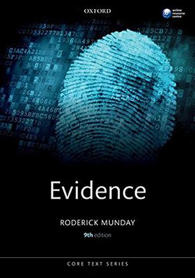 Evidence 9th edition