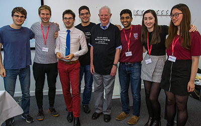 University team reach finals of 'Online Courts Hackathon'