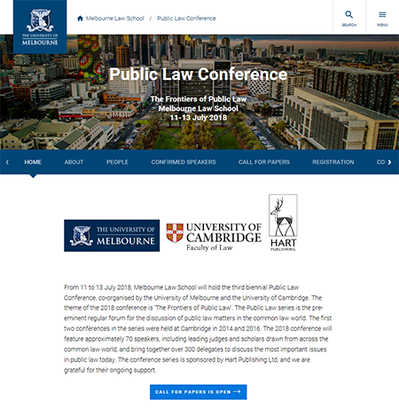 Public Law Conference 2018