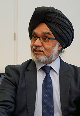Sir Rabinder Singh delivers 2017 David Williams Lecture on 'Divided by a common language: British and American perspectives on Constitutional Law'