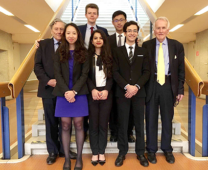 Cambridge University experienced great success at this year's 23rd Willem C. Vis Moot International Commercial Arbitration Moot Court Competition.
