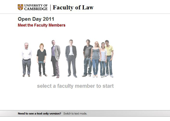 Law Faculty Open Day 2010