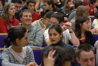 Students at the Faculty of Law Cambridge