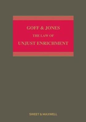 Goff & Jones: The Law of Unjust Enrichment