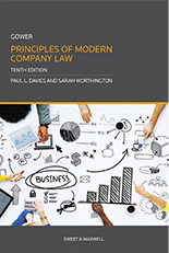 Gower: Principles of Modern Company Law 10th ed