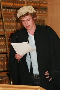 Sutton Trust Summer School in Law 2008